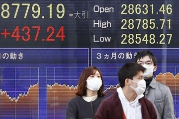Chỉ số chứng khoán Nikkei của Nhật Bản đạt đỉnh trong 30 năm