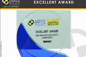 Chuyên gia: 'Cam kết mạnh mẽ về an toàn của VinFast đã gây ấn tượng với quốc tế'