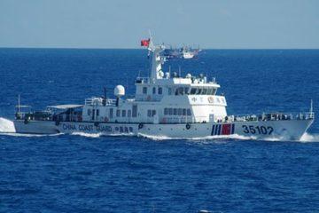Mỹ lên tiếng về luật biển mới của Trung Quốc