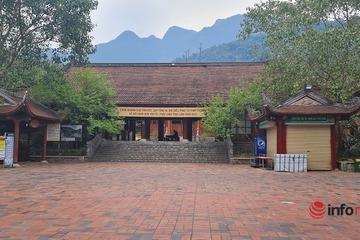 Vẻ đẹp thâm trầm chùa Yên Tử giữa núi rừng, trong không gian tĩnh mịch