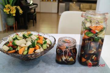 Su hào, bắp cải vừa ngon vừa rẻ, làm ngay món củ quả ngũ sắc ngâm thảo mộc