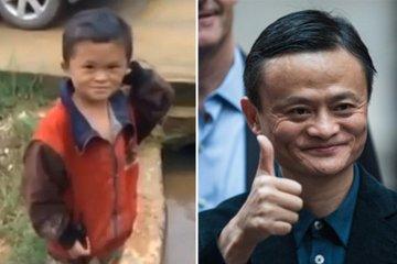 Đời không như là mơ với cậu bé 'bản sao' của tỷ phú Jack Ma
