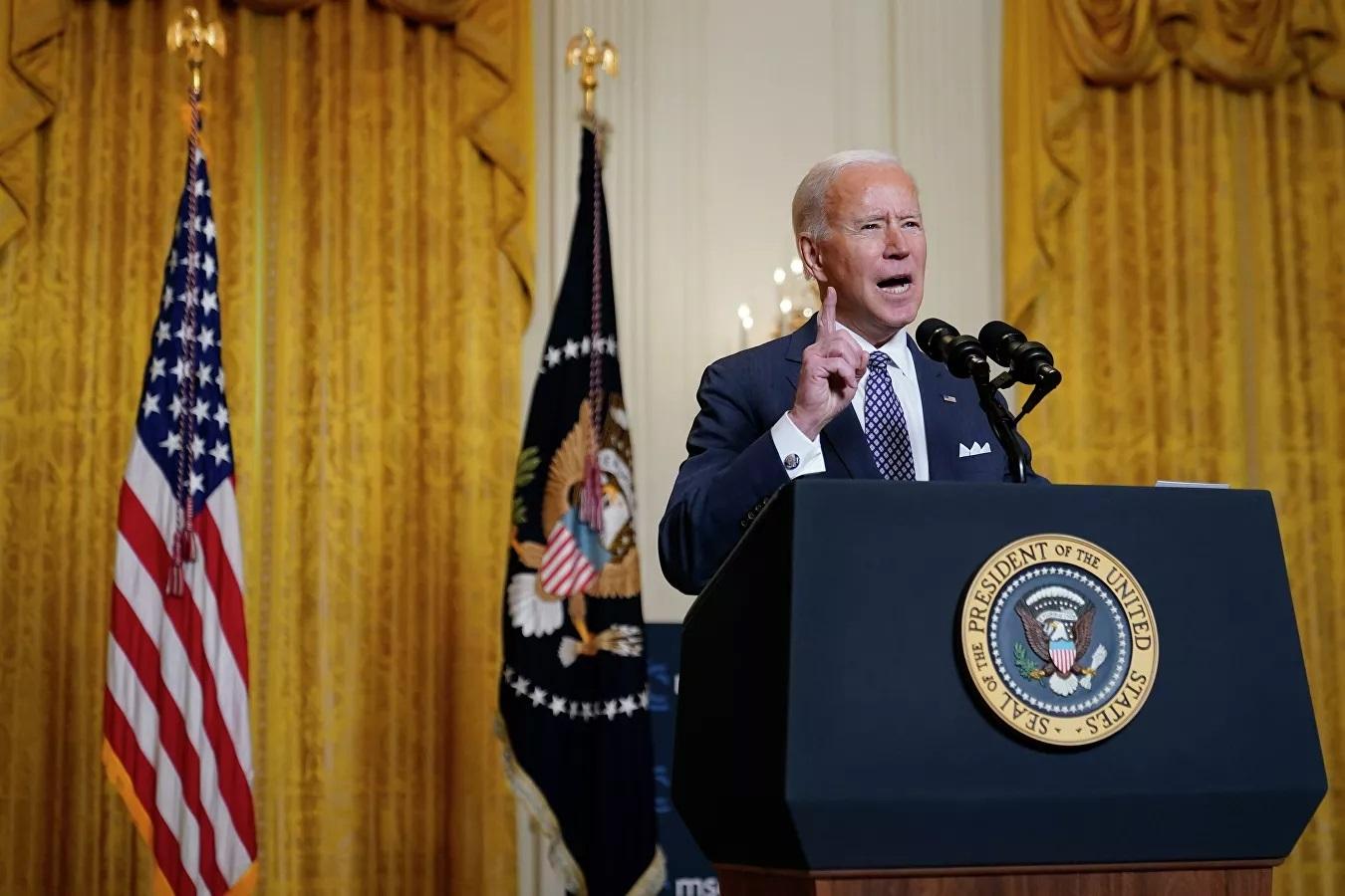 Joe Biden,vũ khí