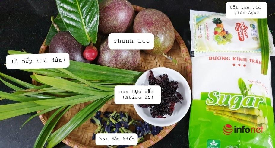 cách làm kẹo rau câu