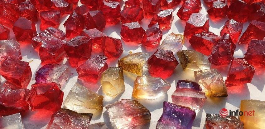 Quà tặng 8/3: Tự tay làm kẹo rau câu đá quý lung linh sắc màu