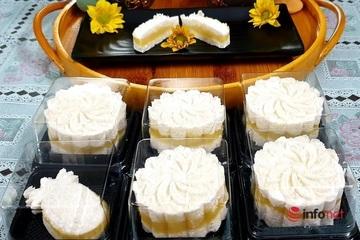 Tự tay làm món bánh in thơm ngon cúng Rằm tháng Giêng