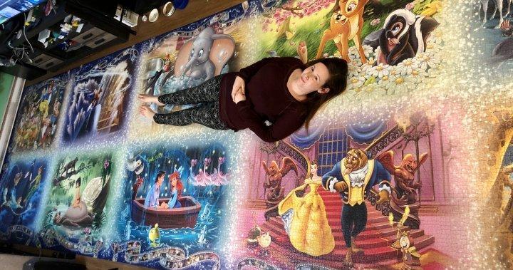 Bức tranh từ hơn 40.000 mảnh ghép