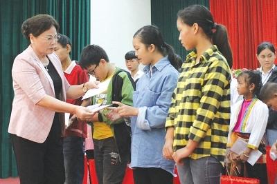 Quảng Trị: Điểm sáng tại xã có 90% gia đình hiếu học