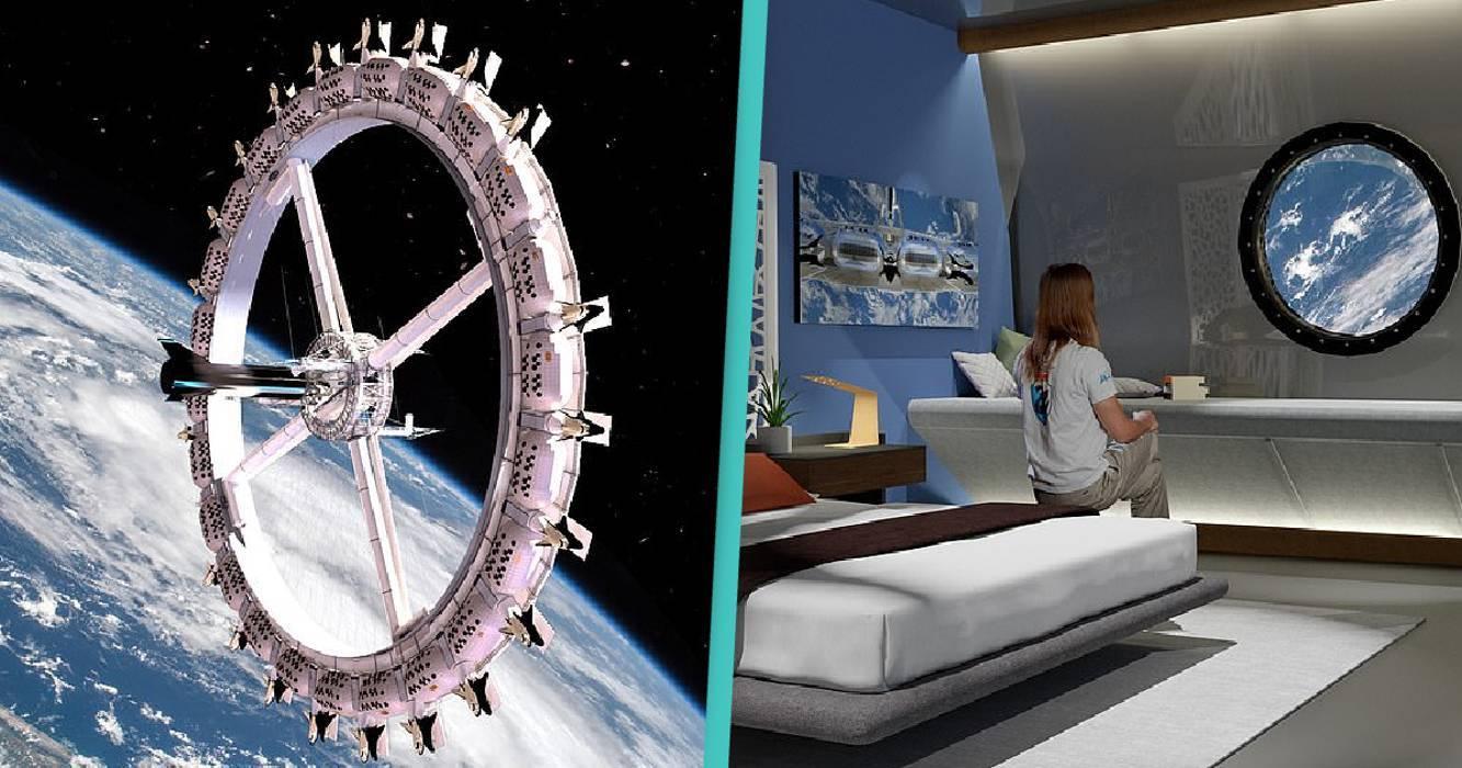 Bên trong khách sạn không gian đầu tiên trên thế giới mở cửa năm 2027