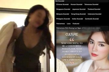 """Ninh Dương Lan Ngọc: """"Người con gái trong đoạn clip đen không phải tôi"""""""