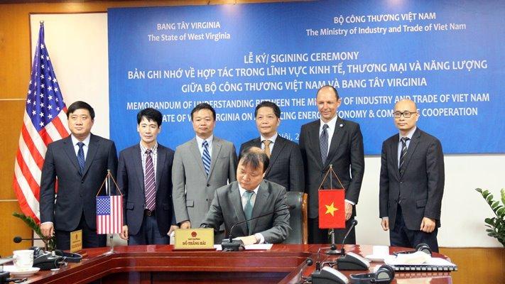 Tăng cường hợp tác giữa Bộ Công thương Việt Nam và bang West Virginia của Hoa Kỳ
