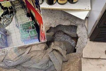 Ấn Độ: Kẻ trộm đào đường hầm đánh cắp hàng trăm kg kim loại quý