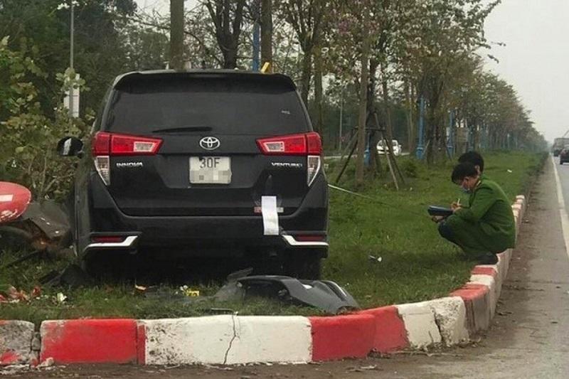 tai nạn,tai nạn giao thông,tử vong,tai nạn liên hoàn,Mê Linh,tài xế ngủ gật