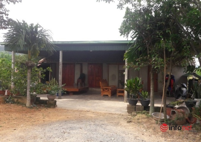 Chủ tịch xã,Xây nhà trái phép,Đất nông nghiệp,Nguyễn Quốc Quân,Hà Tĩnh
