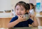 Trường mầm non Trung Quốc chỉ phục vụ ăn chay cho học sinh