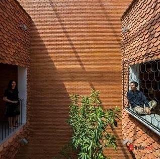 Độc đáo ngôi nhà vảy cá của vợ chồng trẻ Tây Ninh