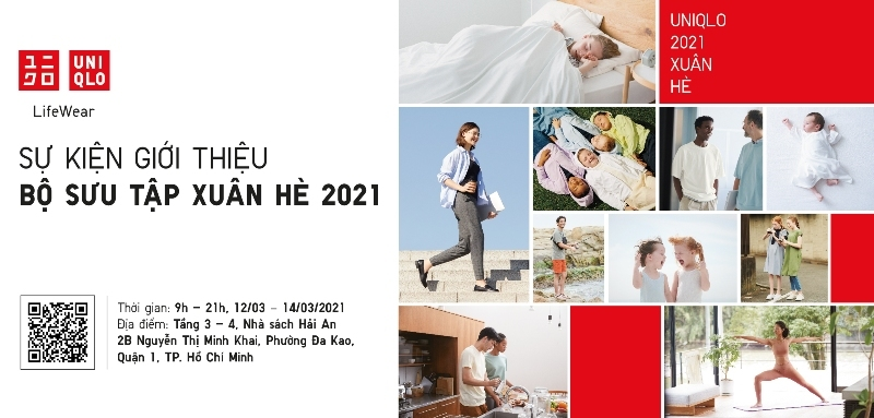 UNIQLO tổ chức sự kiện giới thiệu BST Xuân Hè 2021
