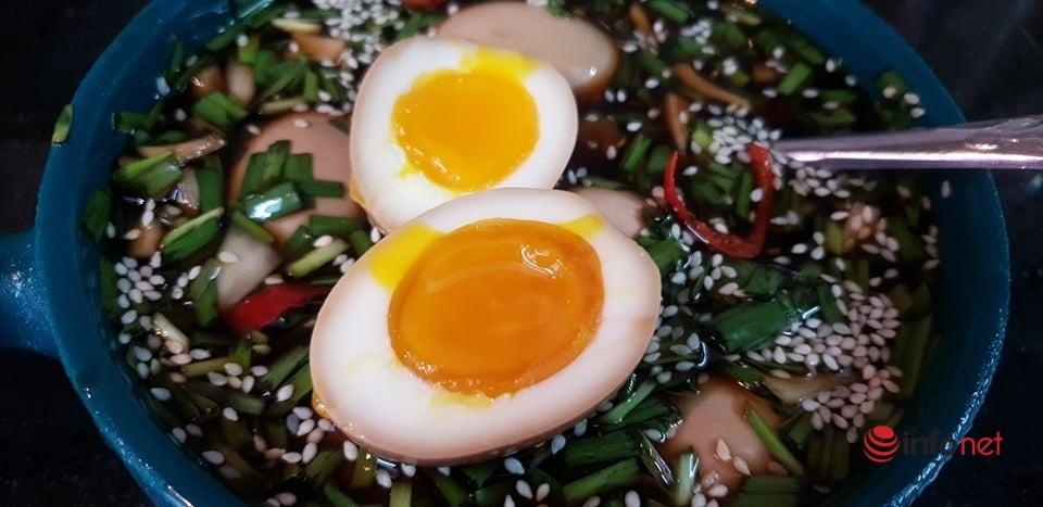 cách làm trứng ngâm tương 6