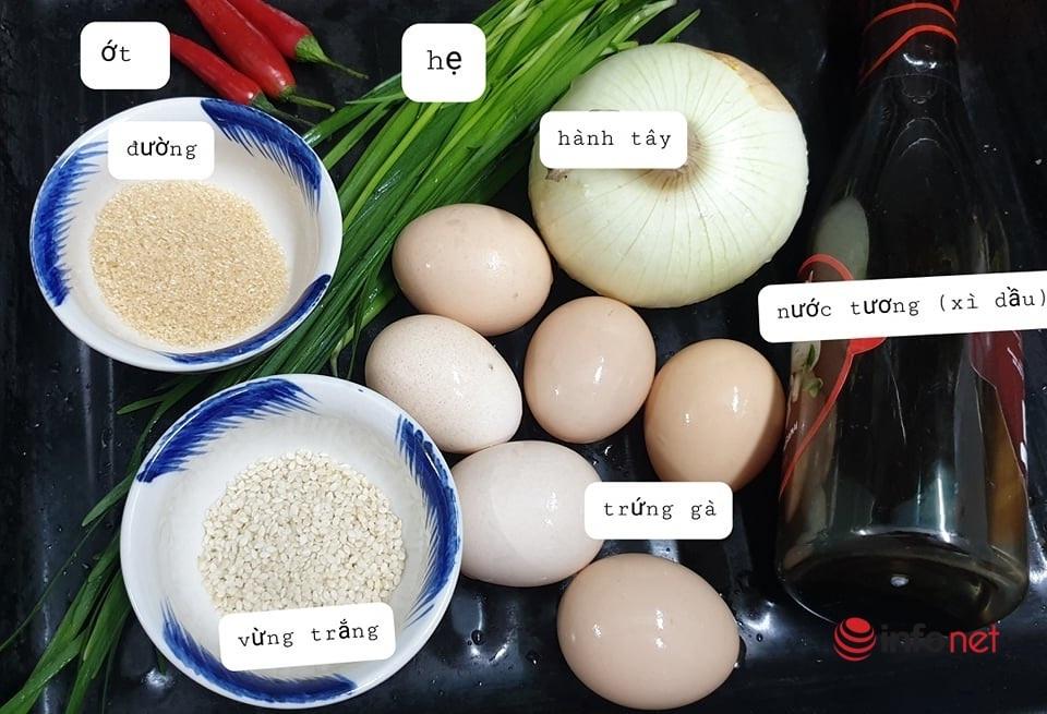 Chỉ 10 phút có ngay món trứng ngâm tương kiểu Hàn Quốc 'bao ngon'