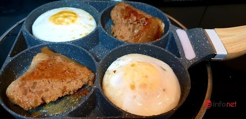 'Combo' làm pate gan và món ăn cùng thơm ngon đúng điệu
