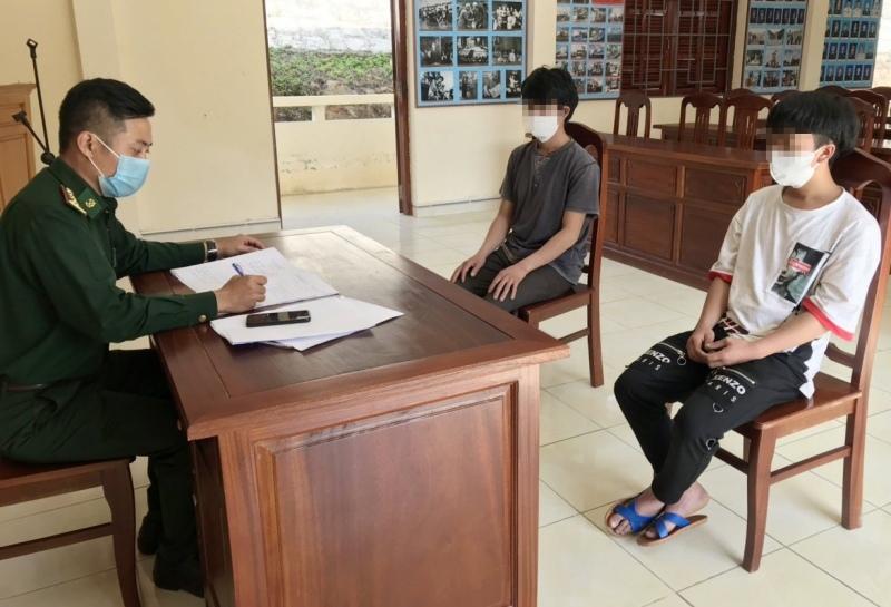 Phát hiện thêm 2 người vượt biên trái phép vào Quảng Nam