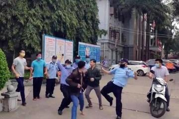 Công an triệu tập những người liên quan vụ 'hỗn chiến' trong bệnh viện tỉnh Tuyên Quang