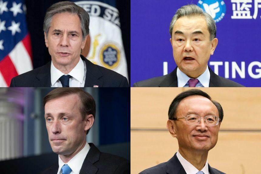 Ngoại trưởng Mỹ lần đầu gặp trực tiếp các quan chức cấp cao Trung Quốc