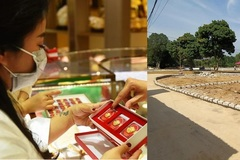 Vàng vào đà giảm giá, có nên bán bớt vàng để mua đất?