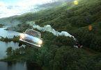 Chiếc xe bay lơ lửng giữa trời mây gây bão mạng