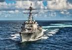 Tàu chiến thứ 3 của hải quân Mỹ đi qua eo biển Đài Loan