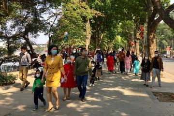 Hà Nội đón khoảng 122.000 lượt khách dịp Tết Nguyên đán