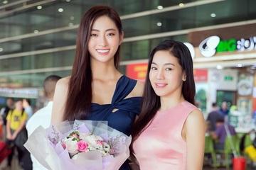 """Dân mạng nức nở khen hoa hậu Lương Thuỳ Linh khi trả lời """"bà trùm hoa hậu"""""""