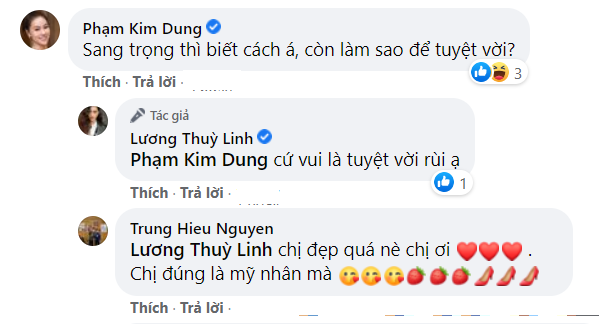 """Dân mạng nức nở khen hoa hậu Lương Thuỳ Linh khi trả lời """"bà trùm hoa hậu'"""