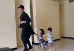 """Những khoảnh khắc """"lịm tim"""" của NTK Đỗ Mạnh Cường với 7 con nuôi"""