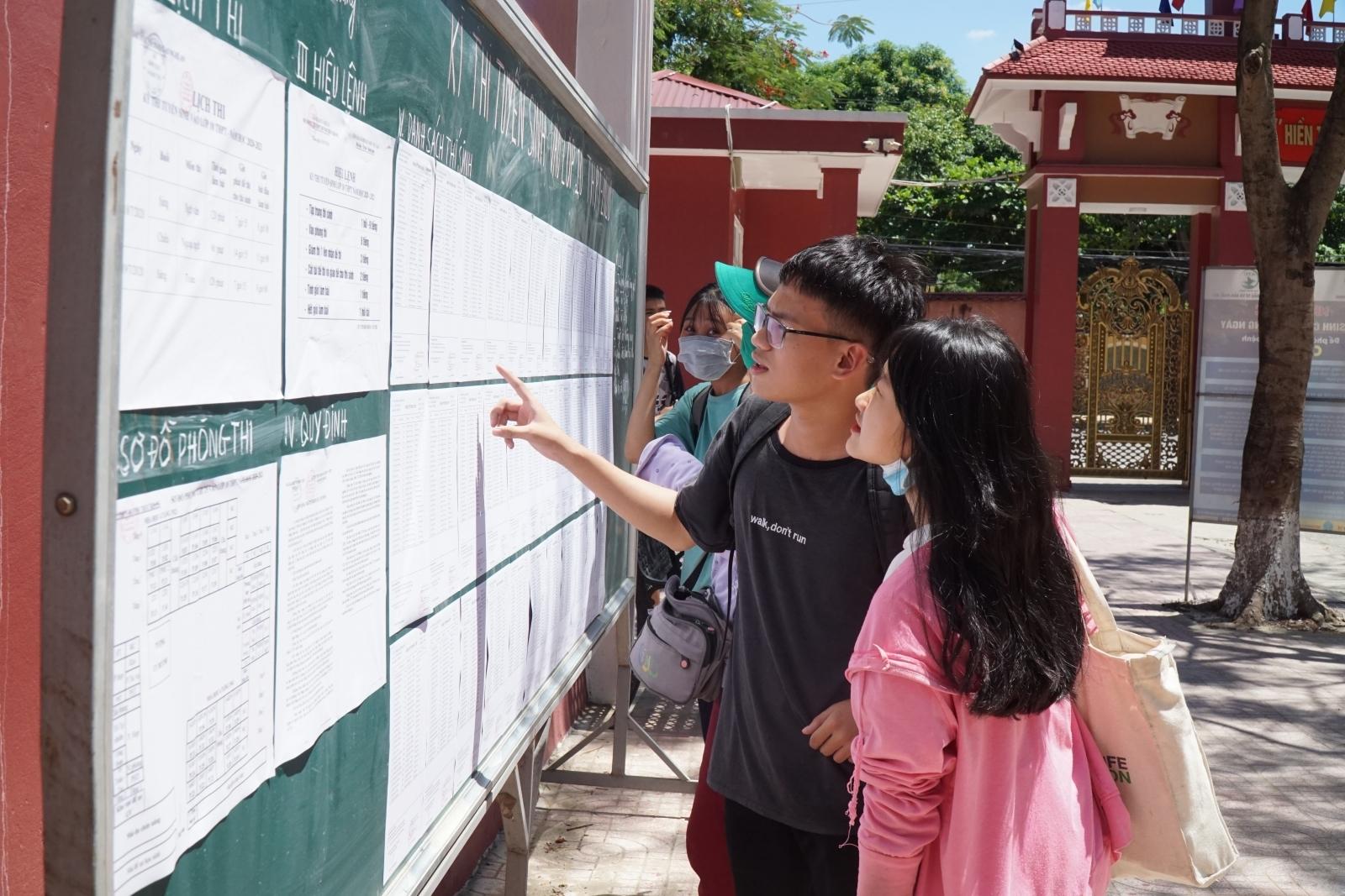 Lịch sử là môn thi thứ 4 vào lớp 10 tại Hà Nội