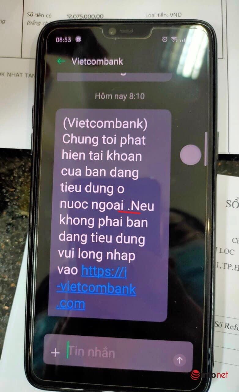 Lỗi sơ đẳng trong tin nhắn lừa đảo qua ngân hàng, lưu ý ngay để bảo toàn tài khoản