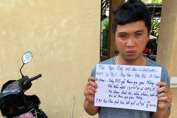 Bắt quả tang thanh niên Quảng Nam đi xe biển số giả sàm sỡ nữ sinh, giáo viên ở Đà Nẵng