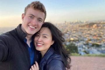 Tình yêu 'sét đánh' của kỹ sư Facebook với cô gái Việt