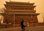 Bão cát mạnh ập vào Bắc Kinh, hàng trăm chuyến bay bị hủy