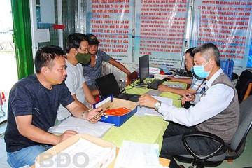 Bình Định trực 24/24 giờ hỗ trợ ngư dân trên biển trong dịp Tết Nguyên đán