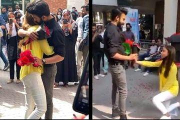 Tỏ tình và ôm nhau giữa sân trường, cặp đôi sinh viên bị đuổi học