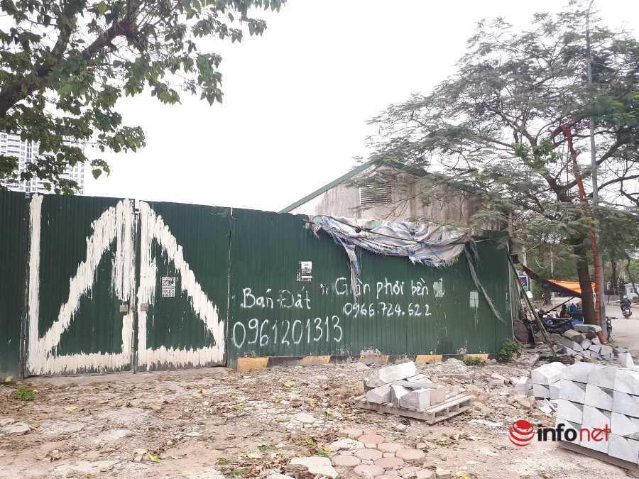 Đất vàng Cầu Giấy: Nơi 'đắp chiếu', nơi công trình bỏ dở hoang phế chục năm