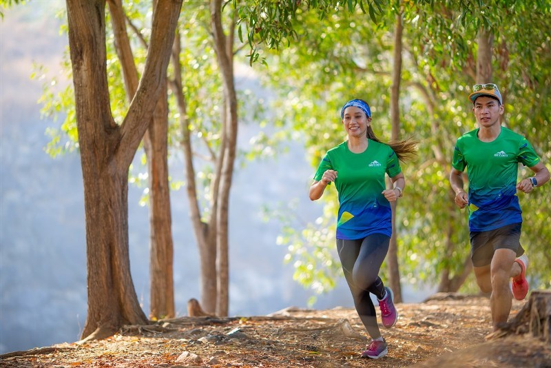 Giải chạy marathon,Núi Bà Đen,Tây Ninh