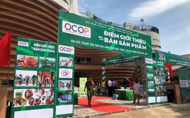 Năm 2021, Hà Nội phát triển mới 30-40 điểm giới thiệu sản phẩm OCOP