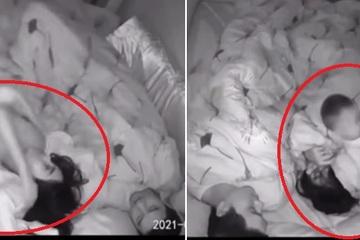 Clip lột tả nỗi khổ của hàng triệu bà mẹ bỉm sữa: Đêm ngủ vẫn chưa yên thân!