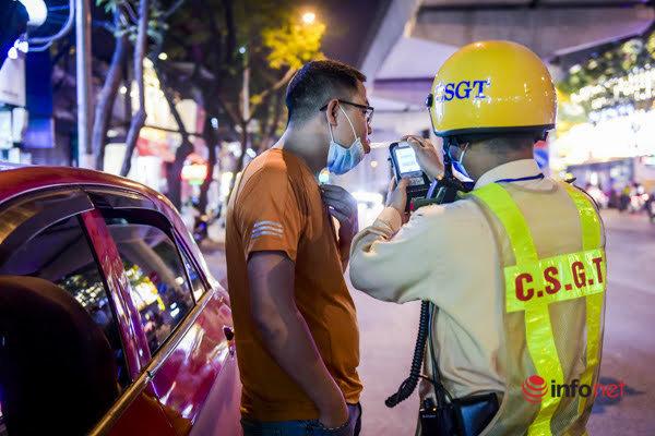 Hà Nội: Tối 17/3, hàng loạt tài xế bị phạt nặng, giữ phương tiện, tước bằng lái