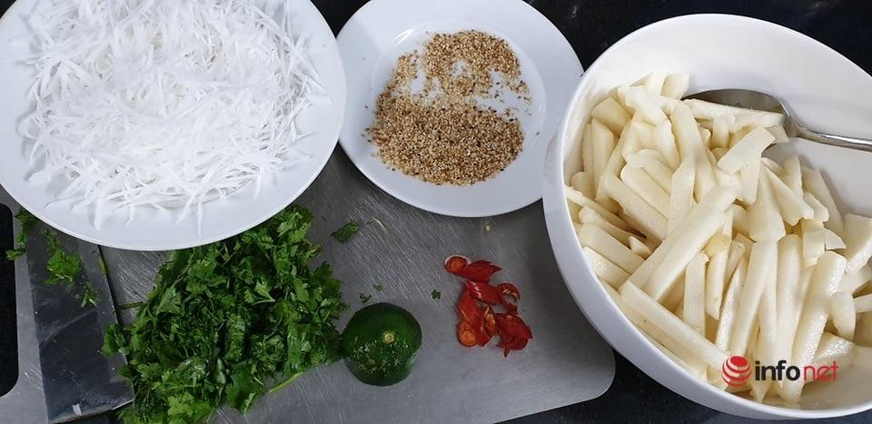 'Bạch tuyết vừng dừa' món ăn thanh mát ngày hè