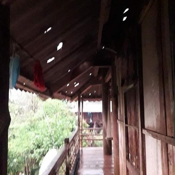 Mưa đá lớn tại Điện Biên, nhà cửa, hoa màu thiệt hại nặng