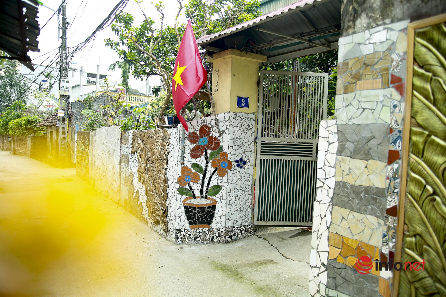 con đường gốm sứ,phế liệu,bảo vệ môi trường,môi trường,làng Liên Mạc,Hà Nội