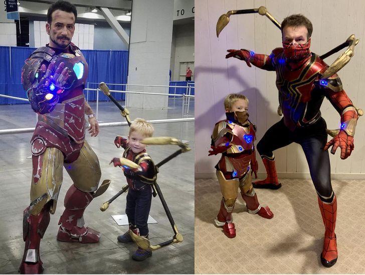Những bức ảnh vừa hài hước vừa cảm động mang tên 'bố là siêu nhân'